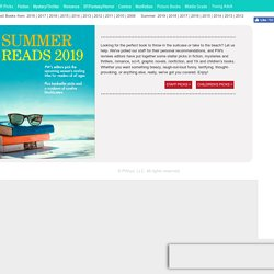 Best Books Summer 2019 from Publishers Weekly