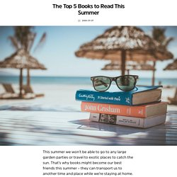 The Top 5 Books to Read This Summer – SQUID Shopping