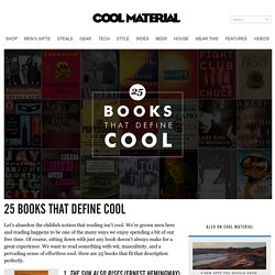 25 Books That Define Cool