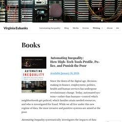 Books – Virginia Eubanks