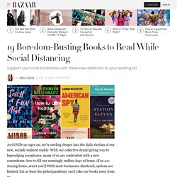 19 Best Books to Read While Social Distancing