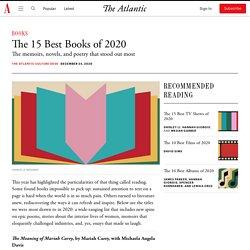 Best Books of 2020: Anna Wiener, Brit Bennett, Charles Yu