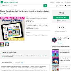 Digital Class Bookshelf for Distance Learning Reading Culture