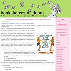 bookshelves of doom: The Absolutely True Diary of a Part-Time Indian