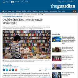 Could online apps help save indie bookshops?