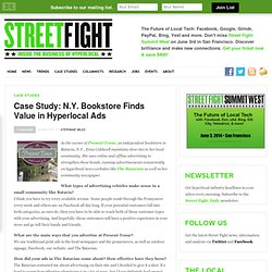 Case Study: N.Y. Bookstore Finds Value in Hyperlocal Ads