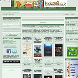BookTalk.org - Book Discussions, Book Reviews, Live Author Chats