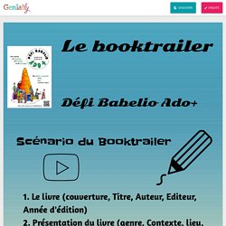 Booktrailers by saomalgar on Genially