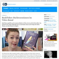 BookTuber: Buchrezensionen im Video-Kanal