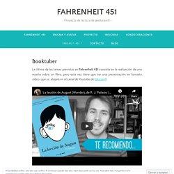 Booktuber – FAHRENHEIT 451