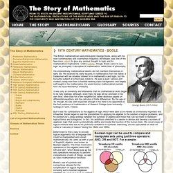 Boole - 19th Century Mathematics