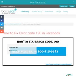 How to Fix Error code 190 in Facebook