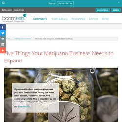 Five Things Your Marijuana Business Needs to Expand