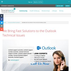 We Bring Fast Solutions to the Outlook Technical Issues