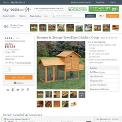 Boomer & George Tree-Tops Chicken Coop - Chicken Coops at Hayneedle