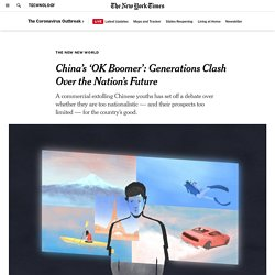 China's 'OK Boomer': Generations Clash Over the Nation's Future