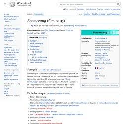 Boomerang (film, 2015)