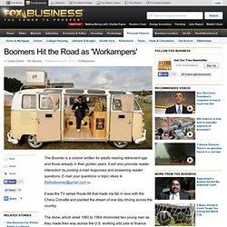 Boomers Hit the Road as 'Workampers'