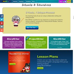 BoomWriter - Schools