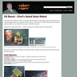 XS Boost, A Chef's Salad Solar Robot