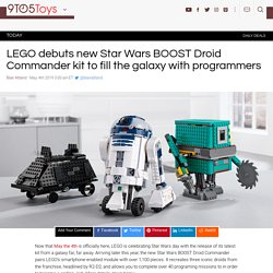 LEGO Star Wars BOOST Droid Commander launces this fall