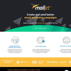 Boost your email marketing ROI with Mailjet