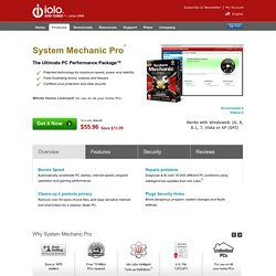 Boost Speed with System Mechanic Pro
