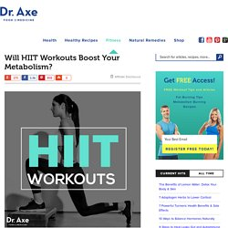 Boost Your Metabolism with HIIT Workouts