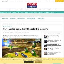 Cerveau : les jeux vidéo 3D boostent la mémoire - Sciencesetavenir.fr