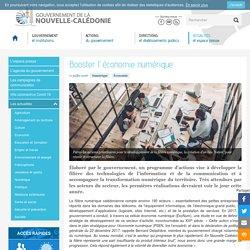 Booster l'économie numérique