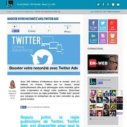 Booster votre notoriété avec Twitter Ads - Le JCM