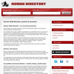 Dwizer Web Booster, portail et annuaire