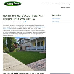 Boosting Curb Appeal with Artificial Turf in Santa Cruz, CA