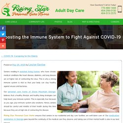 Boosting the Immune System to Fight Against COVID-19
