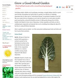 10 Mood-Boosting Foods You Can Grow