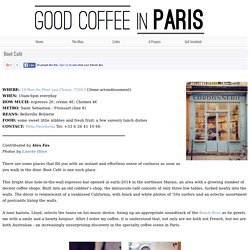 Good Coffee in Paris