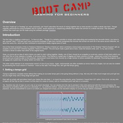 Boot Camp - Mashing for Beginners