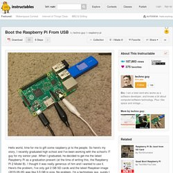 Boot the Raspberry Pi From USB: 8 Steps (with Pictures)