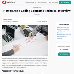 How to Ace a Coding Bootcamp Technical Interview