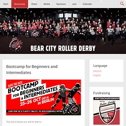 Bootcamps 2013 | Bear City Roller Derby