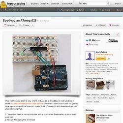 Bootload an ATmega328