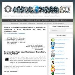 Comment régler dans menu Bootloader les problèmes de démarrage de votre Hackintosh Mac grâce aux commandes Flags - Amodorweb