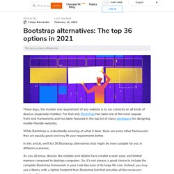 Bootstrap Alternatives: The Best 36 Options in 2020
