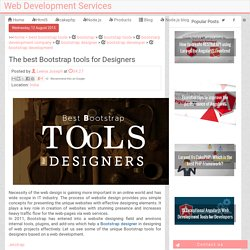 The best Bootstrap tools for Designers
