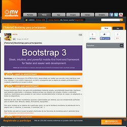[Tutorial] Bootstrap para principantes