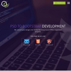 PSD To Bootstrap Services – OG Web Solutions