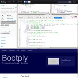 Bootstrap Sidebar, scrollspy and active submenu example code