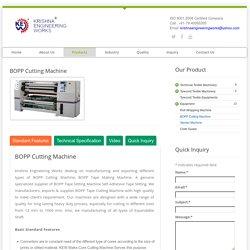 BOPP Cutting Machine, BOPP Tape Slitting Machine, Tape Cutting