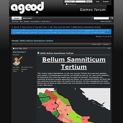 (BOR) Bellum Samniticum Tertium