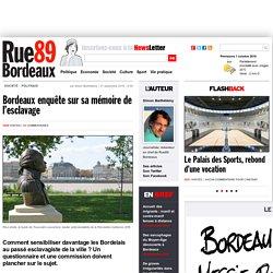 Bordeaux enquête sur sa mémoire de l'esclavage